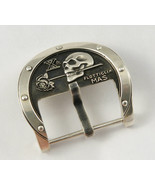 "Skull Watch Buckle ""X flottiglia MAS"" For Watch Band Strap 24 mm - $155.00"