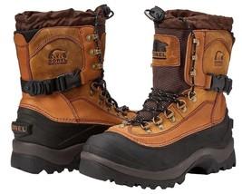 SOREL Men's Conquest Waterproof Thinsulate Winter Snow Boot, Bark NIB