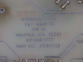 HYDRALIGN SC6011CB CONTROL BOARD, SC6011CB image 4