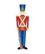 TOY SOLDIER CHRISTMAS HOLIDAY LIFESIZE CARDBOARD STANDUP STANDEE CUTOUT ... - $39.95