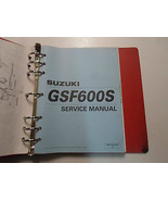 1999 2000 Suzuki GSF600S SY Service Repair Shop Manual DAMAGED FACTORY OEM 99 00 - $41.53