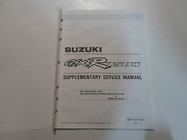 1995 Suzuki GSXR50W Supplementary Service Manual Factory Oem Book 95 Dealership - $23.72