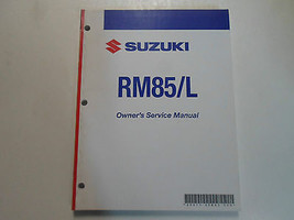 2008 Suzuki RM85/L Owners Service Manual Minor Stains Factory Oem Book 08 Deal - $39.55