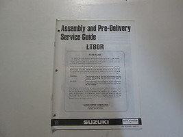 1993 Suzuki LT80R Assembly Pre Delivery Service Guide Manual MINOR STAINS 93 - $19.78