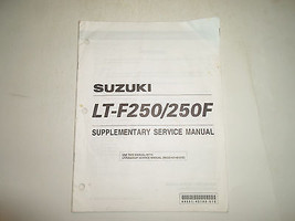 2000 Suzuki Lt F250 250 F Supplementary Service Manual Worn Factory Oem Book 00 - $26.68