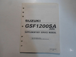 1997 Suzuki Gsf1200 Sa Abs Supplementary Service Manual Factory Oem Book 97 Deal - $24.70