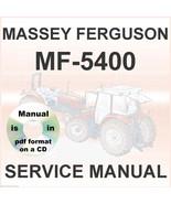 Massey Ferguson MF 5425 5435 5445 5455 5460 5465 Tractors Shop Service M... - $32.95