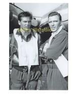 ROBERT LANSING & GARY LOCKWOOD 12 O'clock High RARE 4x6 PHOTO MINT CONDI... - $11.83