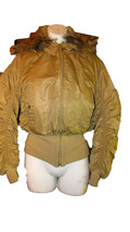 Baby Phat Down Jacket with hood and side Gathers - $24.65