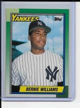 Bernie Williams Rookie Card 1990 Topps Baseball... - $2.50