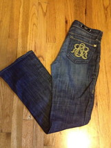 Rock and Republic with Gold Stitching Jeans - Woman's 26  - $65.00