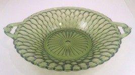 Green Honeycomb Round 2 Handled Bowl~Vegetable ... - $13.98