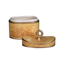Seda France Classic Toile 2-Wick Candle Ceramic Elegant Gardenia 22 oz (... - $58.00