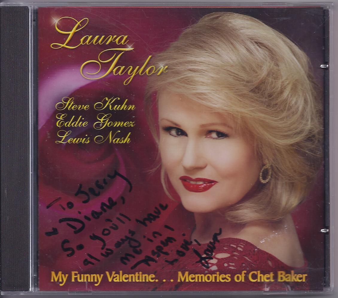 Laura taylor valentine signed