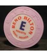 """1990's Roulette Chip From: """"The Reno Hilton Resort""""- (SKU#3081) - $2.99"""