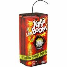 Jenga Boom The Explosive Jenga Tower - New / Sealed - $45.98