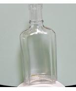 Vintage 5-Inch Medicinal/Chemical/Druggist Clear Glass Bottle - $6.95