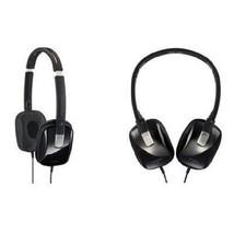 JVC HAS650 Headphones Lightweight Binaural Headphones Stereo Black Flat-... - $46.36 CAD