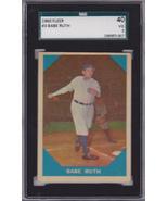 Babe Ruth 1960 Fleer #3 Baseball Card SGC 40 VG 3 - $85.00