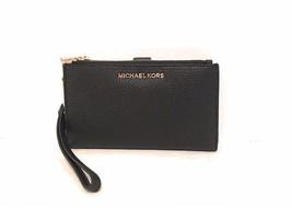 Neuf avec Étiquettes Michael Kors Jet Set Double Fermeture Éclair Téléphone - $199.41