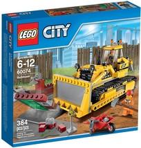 LEGO City Bulldozer (60074) Building Toy Set [NEW] - $57.21