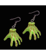 Monster zombie hand earrings lg thumbtall