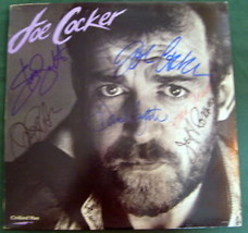 JOE COCKER & BAND MEMBERS (ORIG, SIGN AUTOGRAPH ALBUM ) - $445.50