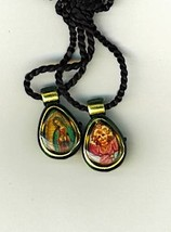 Necklace - Divine Mercy/.Perpetual Help Medal and Prayer Card - L161.0237 image 3