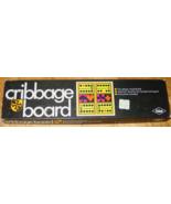 CRIBBAGE BOARD GAME ES LOWE 1968 EXCELLENT - $15.00