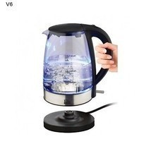 Cordless Electric Kettle 1.7 Liters Cool Touch Glass Coffee Chocolate Te... - £60.11 GBP