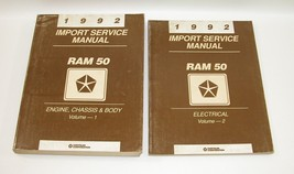 1992 Dodge Ram 50 Factory Service Manuals Good Used Condition - $19.75