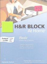 H&R Block At Home [Cd Rom] Mac - $3.86