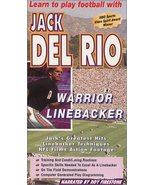 Learn to Play Football with Jack Del Rio Warrior Linebacker [VHS Tape] [... - $23.69