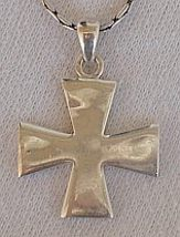 Silver cross patte - $36.00