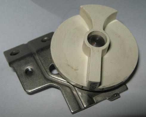 Singer  640E & 645E Touch & Sew Presser Foot Pressure Dial w/Mount #163819-656