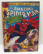 The Amazing Spiderman Tin Embossed Metal Comic Book Cover # 186 Marvel DC ; - $20.68