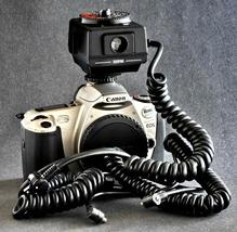 Canon EOS TTL Cord Sunpak 544 Flash TTL KIT for Canon EOS Speedlite Nice ! - $34.00