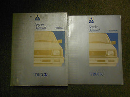 1992 1993 MITSUBISHI Truck Service Repair Shop Manual SET FACTORY OEM DU... - $69.66
