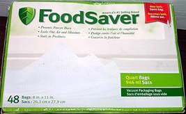 48 FoodSaver Qt Bags - €22,77 EUR