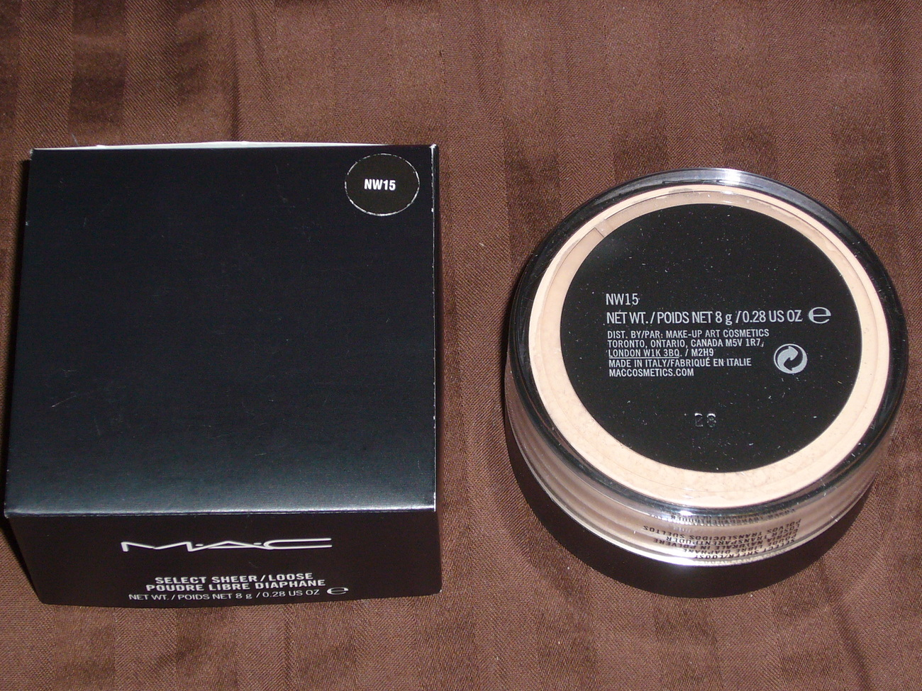 MAC Cosmetics Select Sheer / Loose Powder - NW15