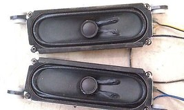 "5EE96 SPEAKERS FROM INSIGNIA, 5"" X 1-1/2"" NOMINAL, TEST OK, VERY GOOD CO... - $15.55"