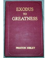 Exodus to Greatness - the Story of the Mormon Migration [Hardcover] [Jan... - $12.85