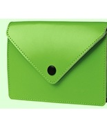 Ordning & Reda GREEN Leather Card Holder/For Credit Cards or Business Ca... - $8.99