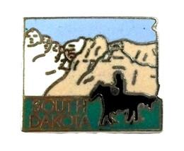 South Dakota State Outline Hat Tac or Lapel Pin - $6.32