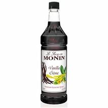 Monin Vanilla Crème Syrup PET - $22.80