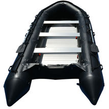 BRIS 15.4 ft Inflatable PVC Boat Inflatable Rescue Fishing Pontoon Boat Dinghy image 4