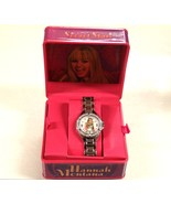 DISNEY HANNAH MONTANA WATCH Silver Metal Rhinestone - close out sale - $9.98