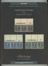 Raymond Fox Collection Siegel auction catalog Oct. 2000 stamps postal hi... - $9.00