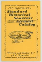 Roessler's Standard Historical Souvenir Airmail Catalog stamp collecting... - $9.00