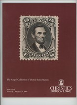 Angel Collection US Stamps Christie's auction catalog Oct 1991 vintage p... - $9.00
